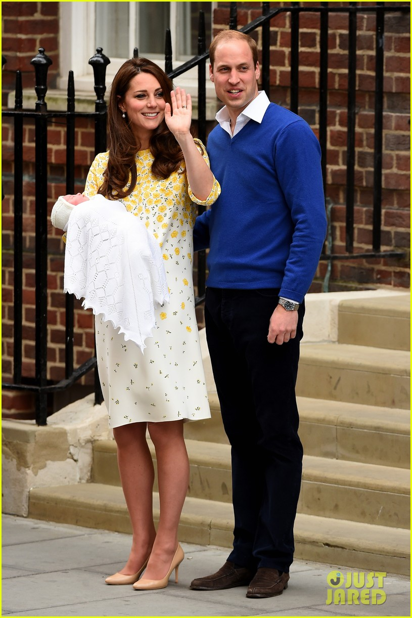 royal baby girl first appearance with kate middleton prince william 013361745