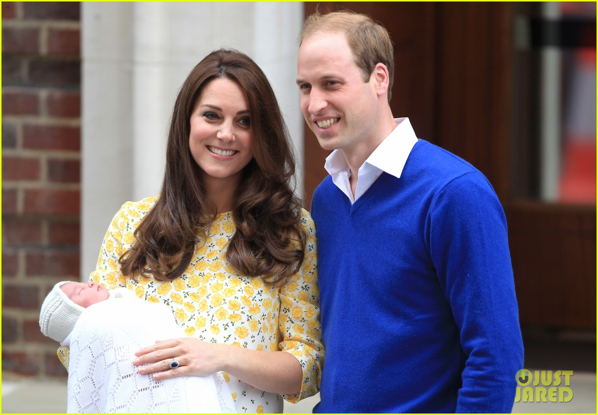 royal baby girl first appearance with kate middleton prince william 273361771