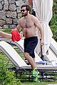 jake gyllenhaal goes shirtless during italy vacation with greta caruso 05