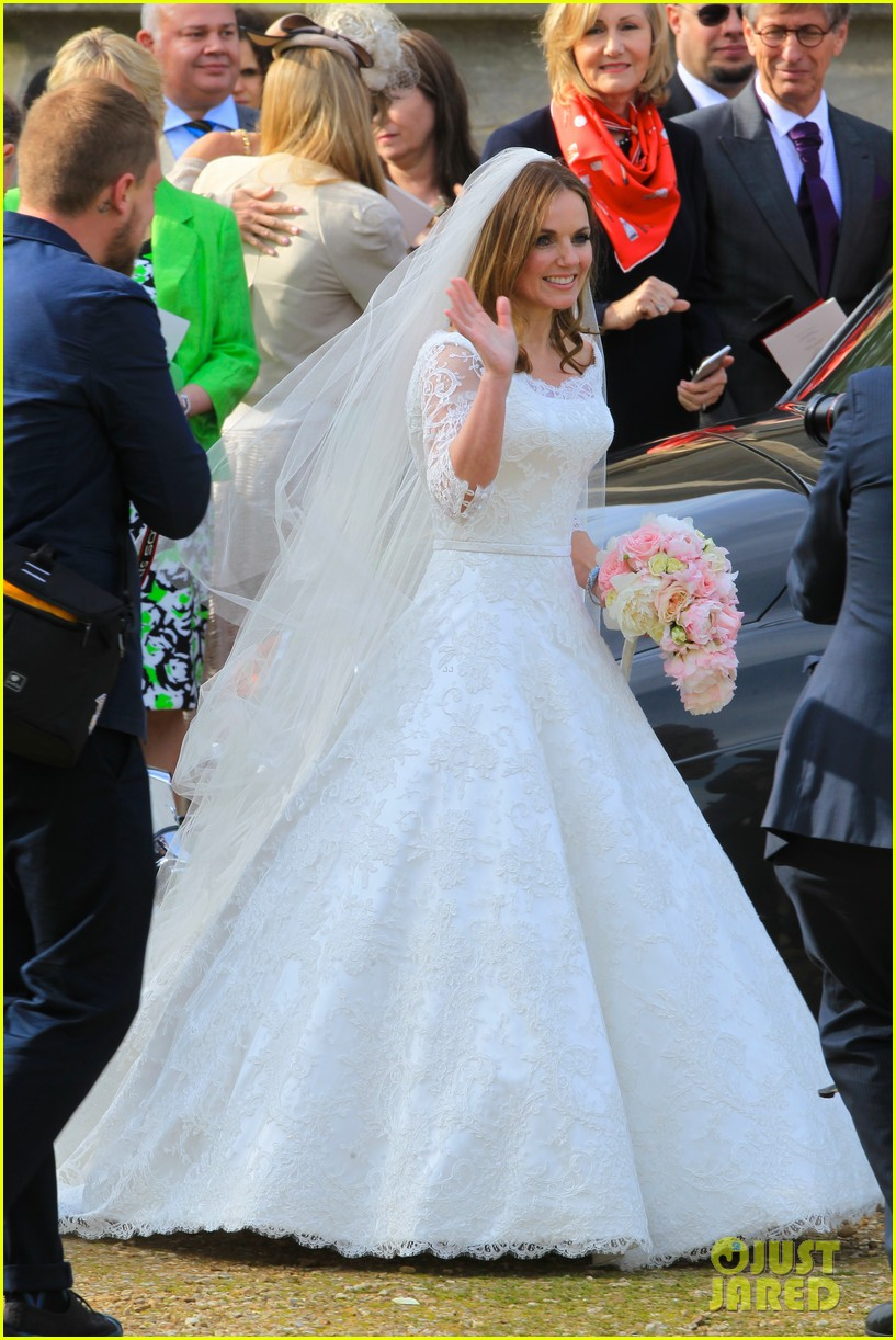 geri halliwell is married spice girls wedding photos 01