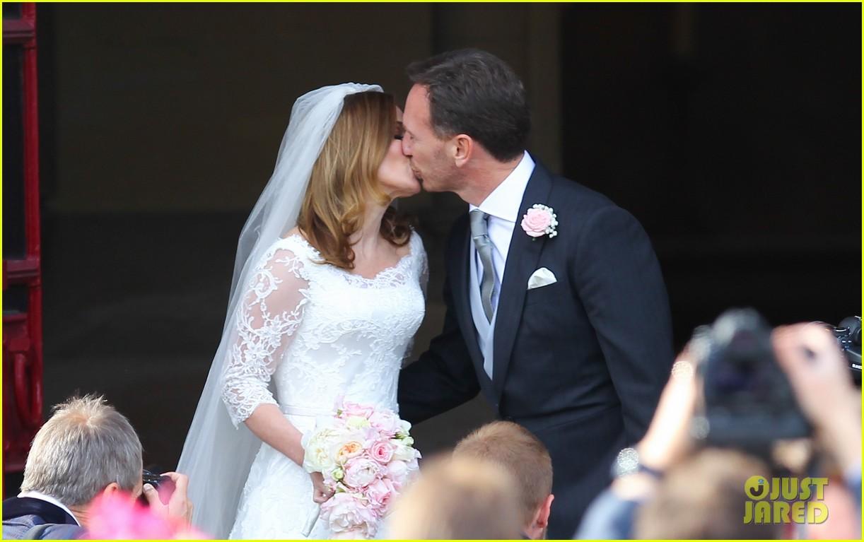 geri halliwell is married spice girls wedding photos 26