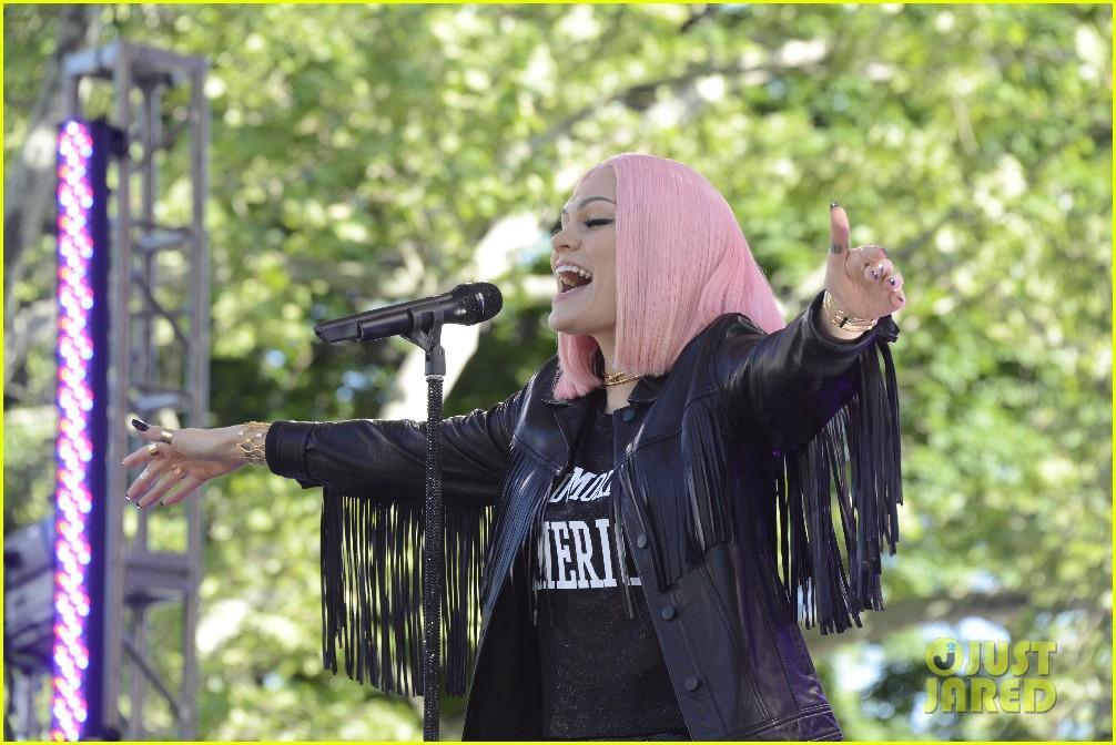 Jessie J 'Sweet Talk's Her Way Around 'Good Morning America