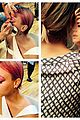 kaley cuoco dyed hair eyebrows pink 03
