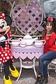 lea michele minnie mouse bday chris colfer walk in rain 01