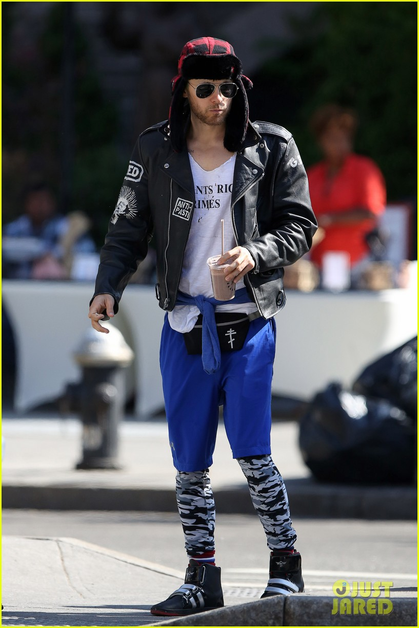 Jared Leto Takes a Break From 'Suicide Squad' to Hang With Terry ... Jared Leto