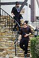 naya rivera ryan dorsey visit friends after heather wedding 02