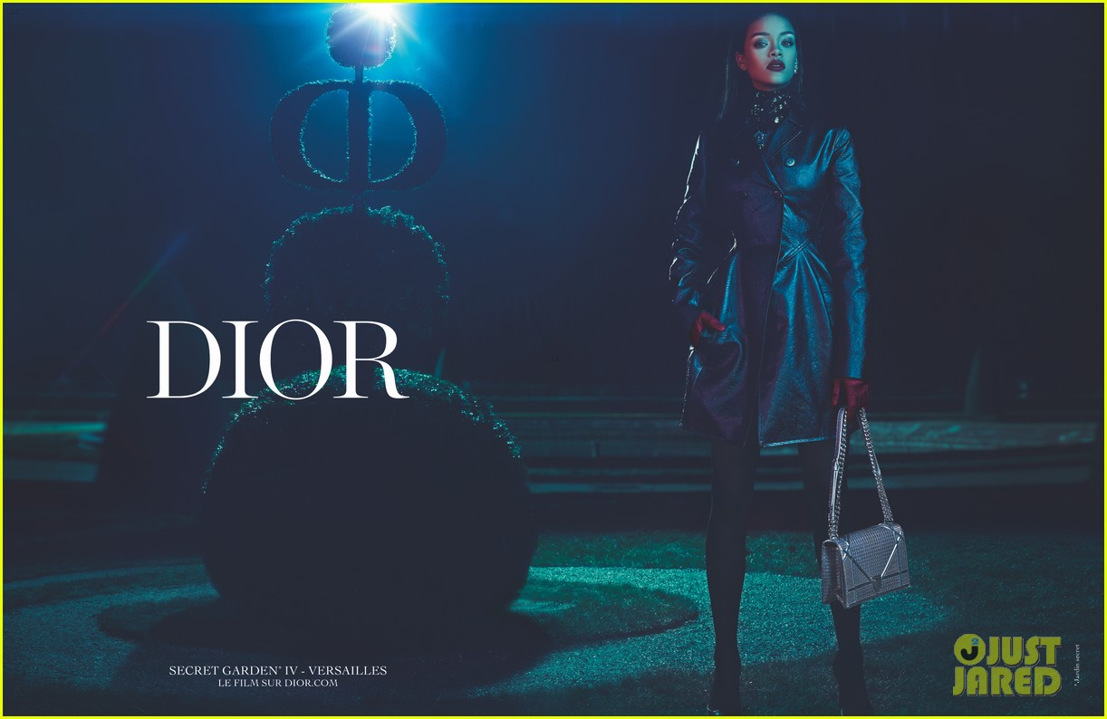 Rihanna es la nueva musa de DIOR. Rihanna-dior-campaign-03