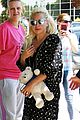lady gaga teddy bear london 04