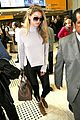 gigi hadid lands in brazil 13