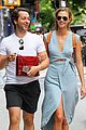karlie kloss packed a ton of clothes for jfk airport departure 02