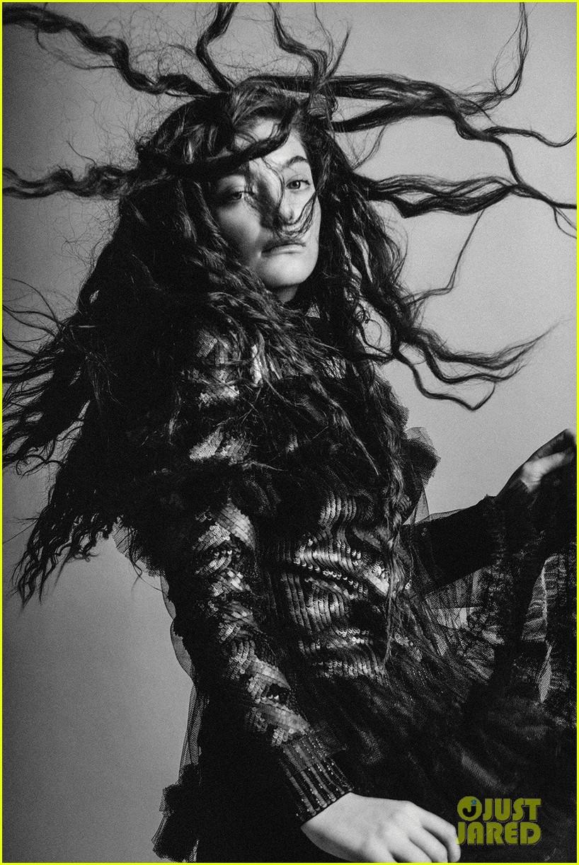 Lorde posa para DAZED MAGAZINE. Lorde-dazed-magazine-interview-quotes-02
