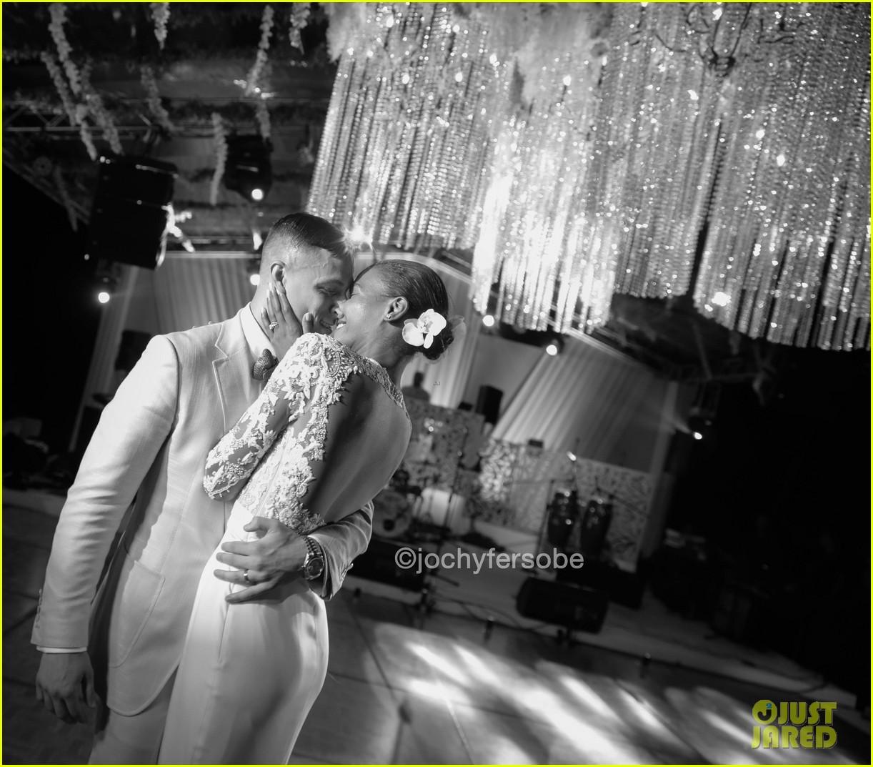 Victoria s secret model arlenis sosa weds basketball player donnie