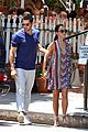jesse metcalfe cara santana lunch the ivy 13