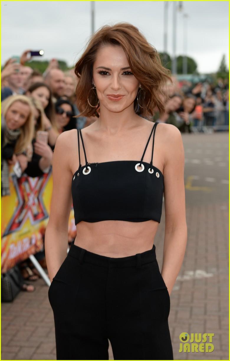 Olly murs black t shirt x factor - Rita Ora Returns From Paris Fashion Week For X Factor Auditions In Manchester Photo 3411060 Cheryl Cole Cheryl Fernandez Versini Nick Grimshaw Olly
