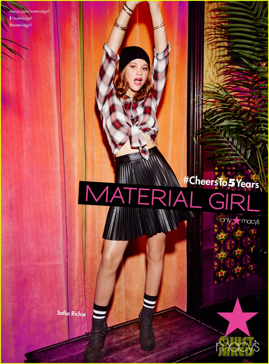 sofia richie material girl campaign 043415836