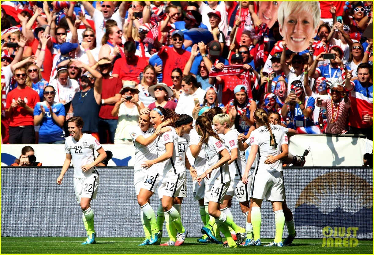 Usa women s soccer team on their world cup win invites team to the