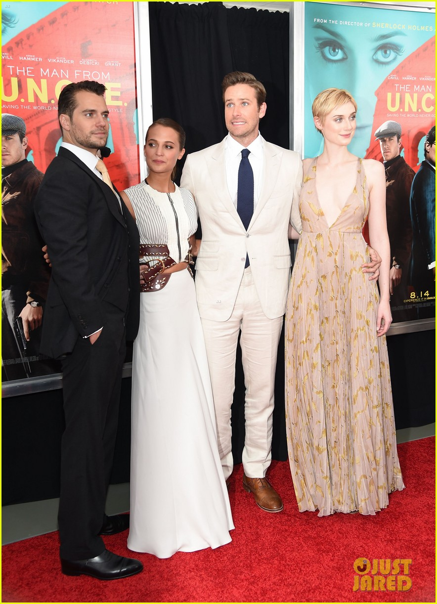 Full Sized Photo Of Alicia Vikander Elizabeth Debicki Man From Uncle Premiere 14 Photo 3435076 Just Jared