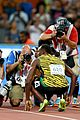 usain bolt hit by reporter on segway 18