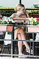 elle fanning lunch dakota hair appointment separate outings 10