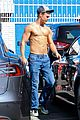 derek hough goes shirtless after dwts practice 16