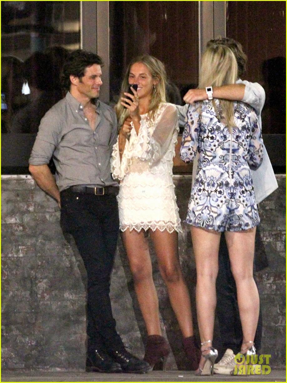 James Marsden & Singer Edei Continue to Fuel Dating Rumors: Photo ...