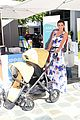 robin thicke selma blair bring their kids to car seat safety 19