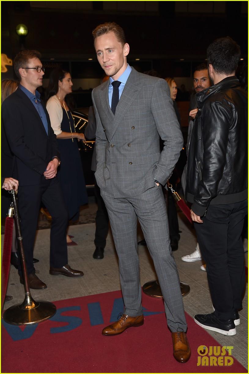 tom hiddleston luke evans high rise premiere 183460365