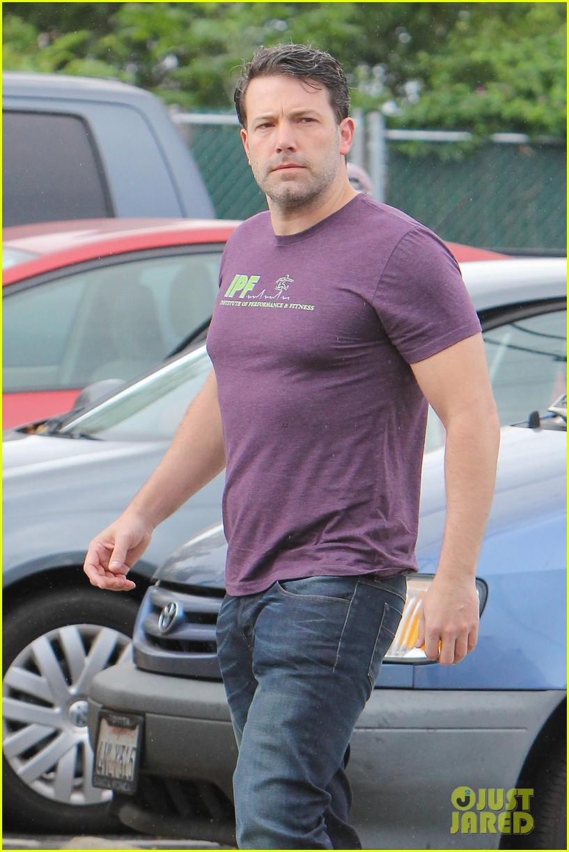 Ben Affleck Is Getting His Buff Batman Body Back!: Photo