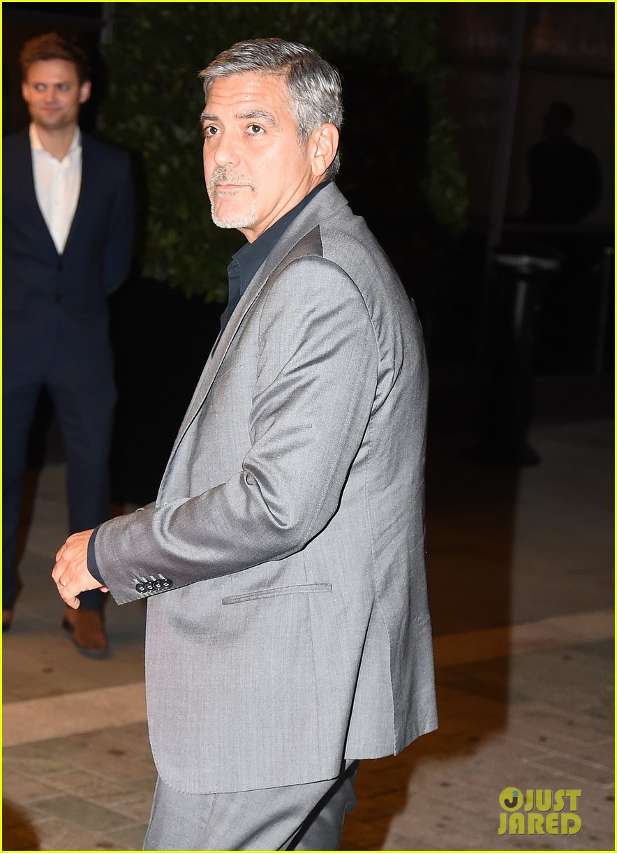 George Clooney at Launch of Casamigos/Cindy Crawford Book October 1, 2015 in London  George-clooney-dishes-on-drunken-nights-with-cindy-crawford-13