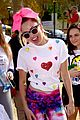 miley cyrus is charitable queen at l a county walk to defeat als 11