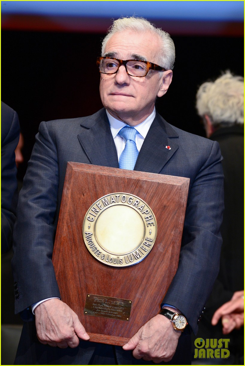 salma hayek honors martin scorsese at lumiere film festival 023486085