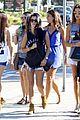 kourtney kardashian leaves the club with justin bieber 25