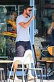 liam hemsworth barefoot in  australia 16