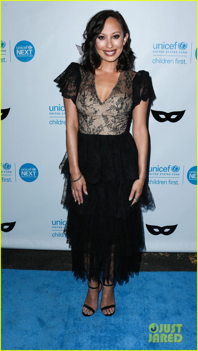 brittany snow annalynne mccord more unicef black white ball 153496653