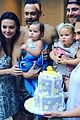stephen amell goes shirtless on thanksgiving with baby mavi 06