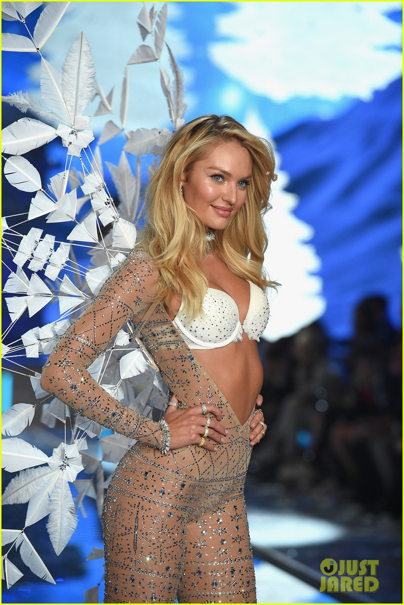 Candice Swanepoel Is Simply Angelic At Victoria S Secret