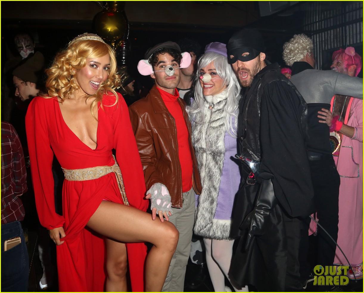 Darren Criss & Matthew Morrison Celebrate Halloween in NYC!: Photo ...