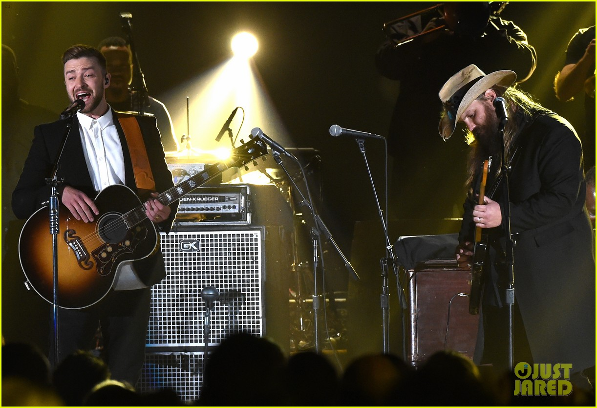 Full sized photo of justin timberlake perform chris for Tennessee whiskey justin timberlake