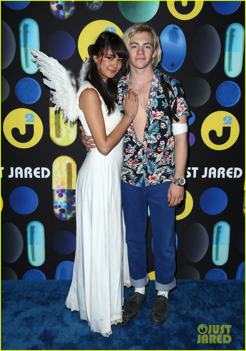 Ross Lynch & Courtney Eaton Make Couple Debut at Just Jared's ...