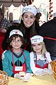 emmy rossum the mission thanksgiving food 30