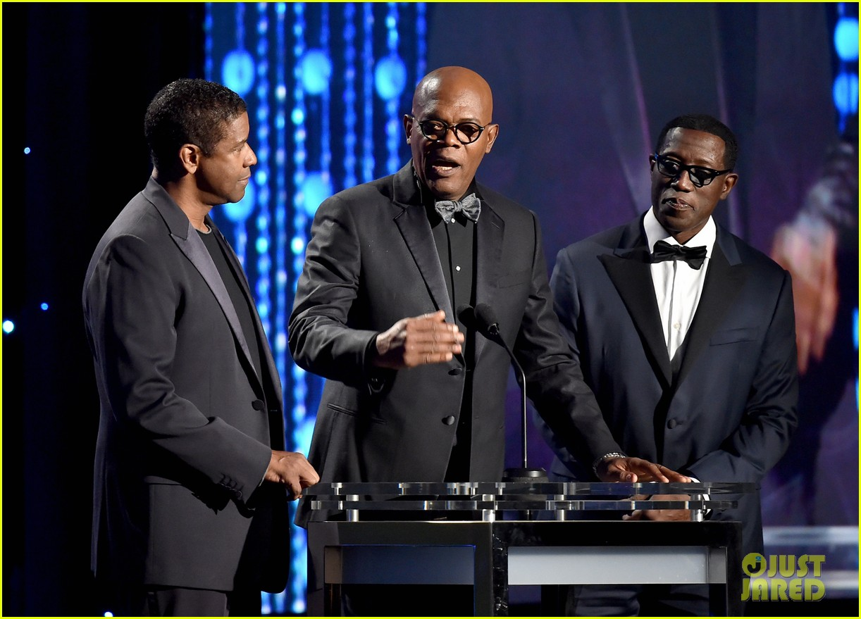 denzel washington samuel l jackson 2015 governors awards 153508780