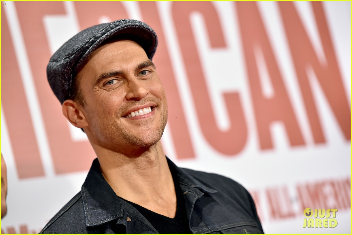 finn wittrock gets support from ahs co stars at my all american premiere 203504820