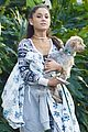 ariana grande onesie dog shopping 02