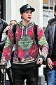 brooklyn beckham jets back to london christmas 21