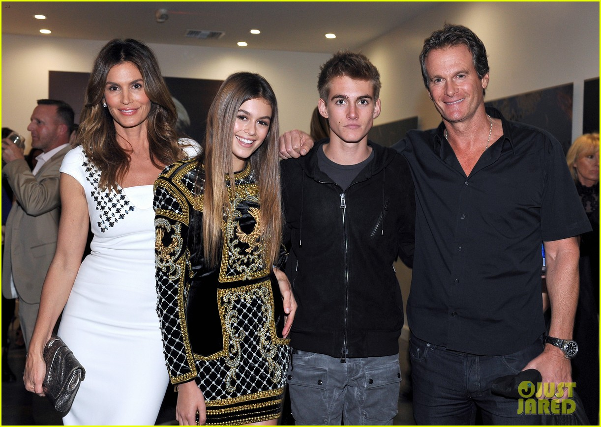 cindy crawford family photos