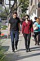 emmy rossum fiance sam esmail walk together 29