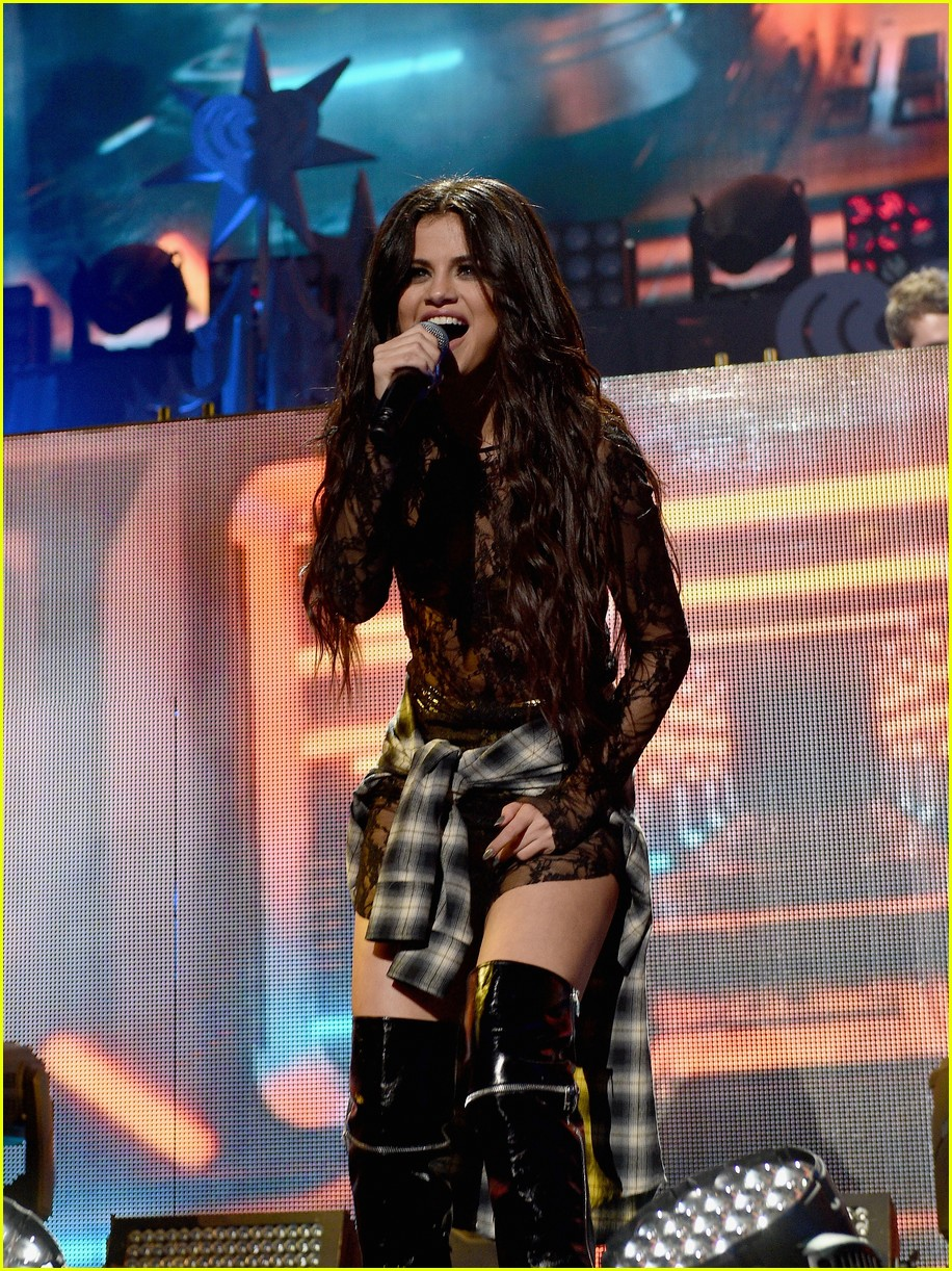Selena Gomez Reunites With Zedd On Stage at Z100's Jingle