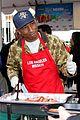 emmy rossum pharrell feed homeless christmas eve 27