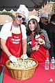 emmy rossum pharrell feed homeless christmas eve 53