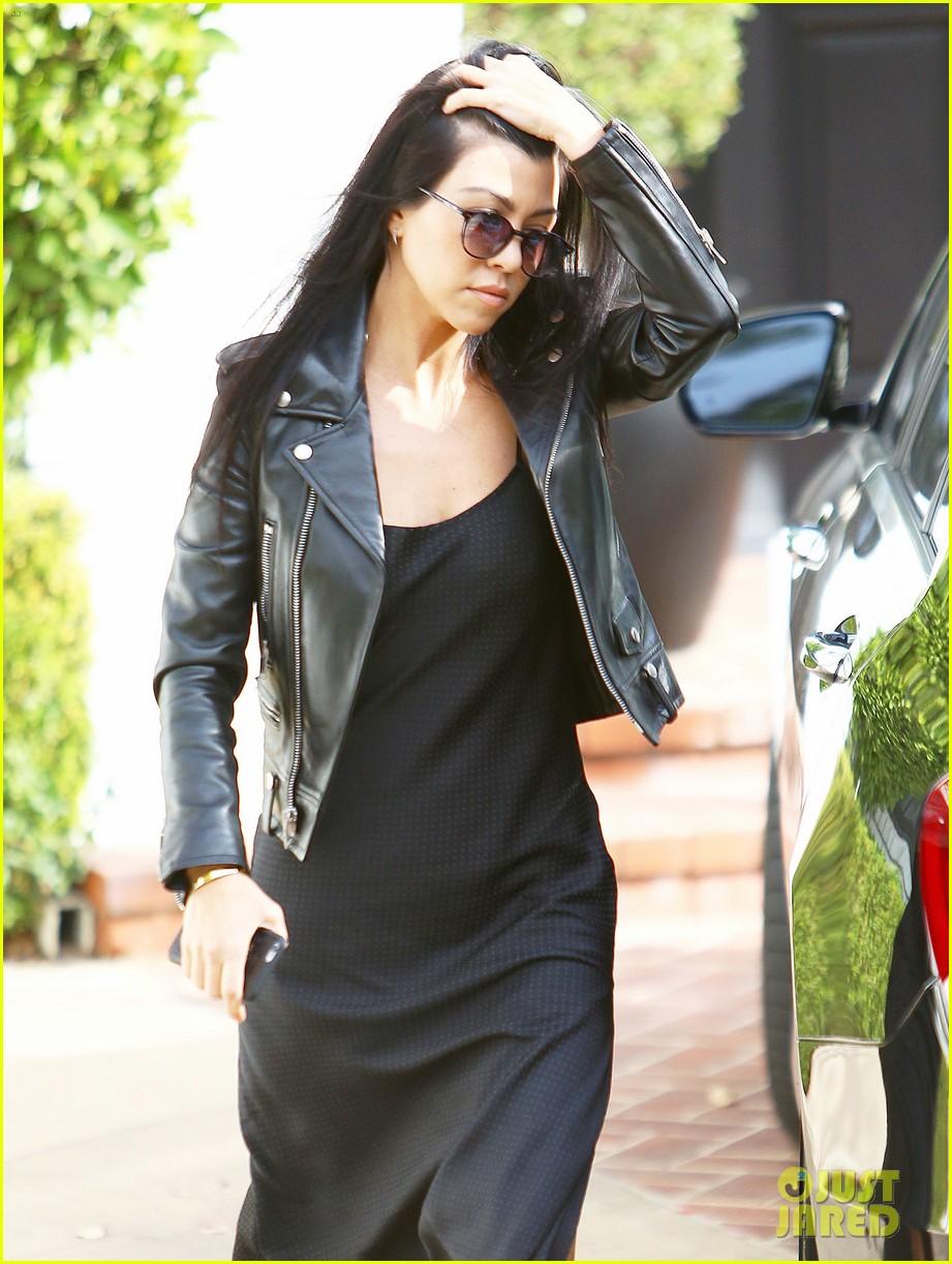Leather jacket instagram - Is Kourtney Kardashian S Cryptic Instagram About Scott Disick Photo 3521936 Kourtney Kardashian Scott Disick Pictures Just Jared